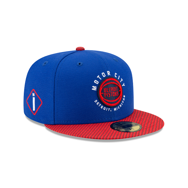 Detroit Pistons City Edition 59FIFTY Fitted | Detroit Pistons Hats | New Era Cap