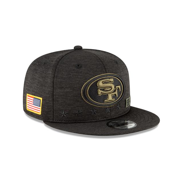 San Francisco 49ers Salute To Service 9FIFTY Snapback | San Francisco 49ers Hats | New Era Cap