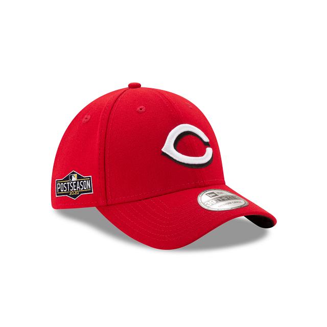 Cincinnati Reds Postseason Side Patch 39THIRTY Stretch Fit | Cincinnati Reds Hats | New Era Cap
