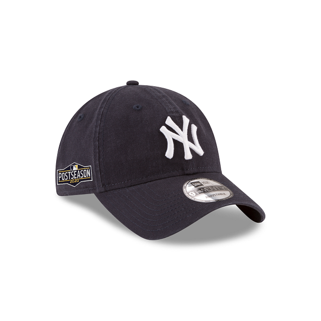 New York Yankees Postseason Side Patch 9TWENTY Adjustable | New York Yankees Hats | New Era Cap