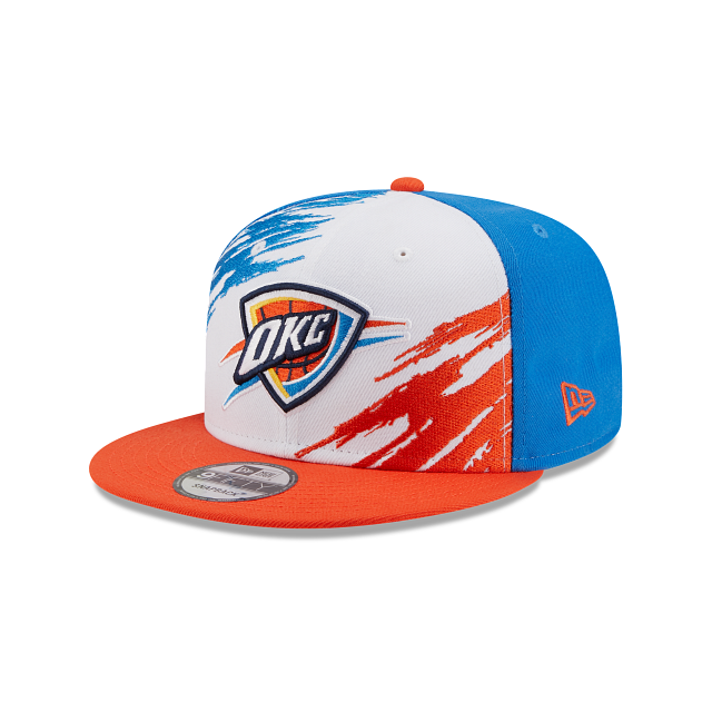 Oklahoma City Thunder Splatter 9FIFTY Snapback | Oklahoma City Thunder Hats | New Era Cap
