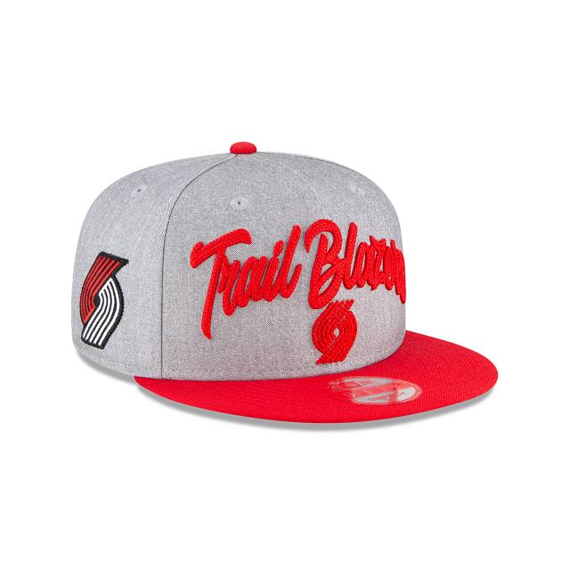 Portland Trail Blazers Official NBA Draft 9FIFTY Snapback | Portland Trail Blazers Hats | New Era Cap