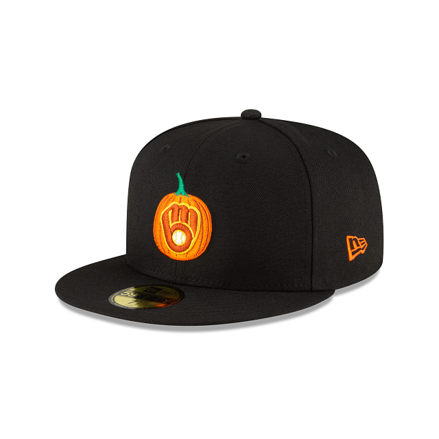 Milwaukee Brewers Carved Pumpkins 59FIFTY Fitted | Milwaukee Brewers Hats | New Era Cap
