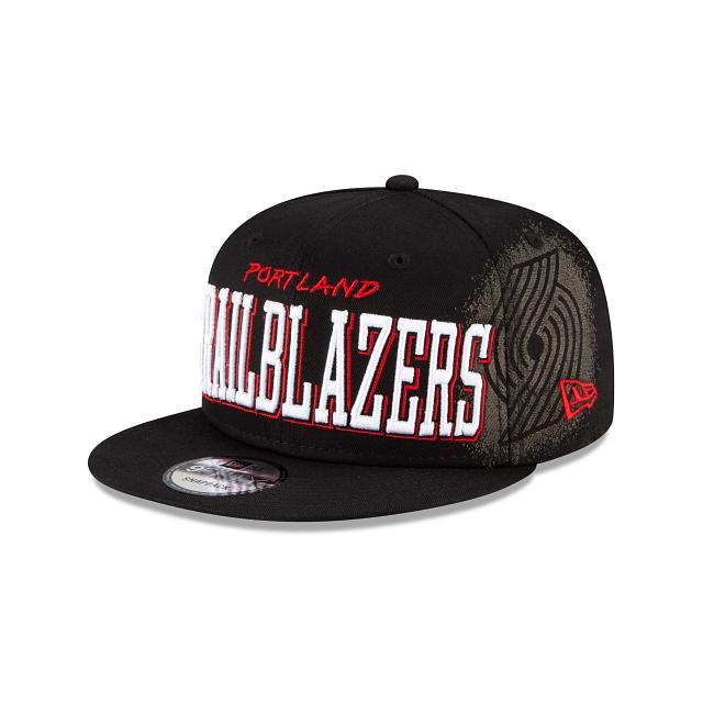Portland Trail Blazers Faded 9FIFTY Snapback | Portland Trail Blazers Hats | New Era Cap
