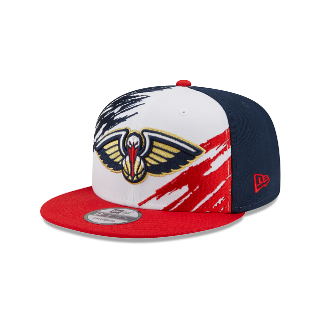 New Orleans Pelicans Splatter 9FIFTY Snapback | New Orleans Pelicans Hats | New Era Cap