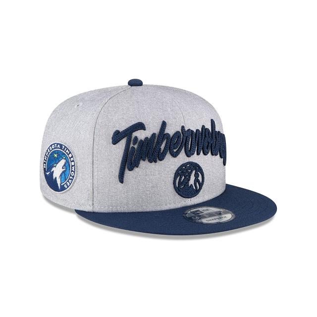 Minnesota Timberwolves Official NBA Draft 9FIFTY Snapback | Minnesota Timberwolves Hats | New Era Cap