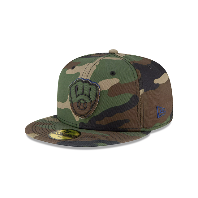 Milwaukee Brewers Forest Pop 59FIFTY Fitted | Milwaukee Brewers Hats | New Era Cap