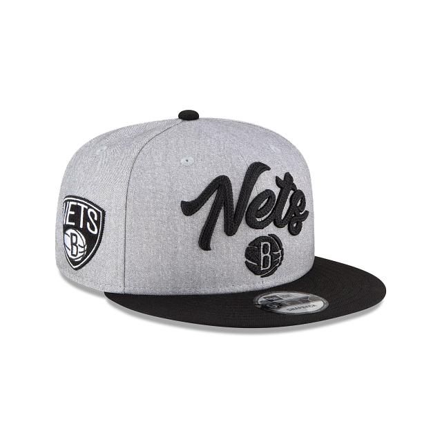 Brooklyn Nets Official NBA Draft 9FIFTY Snapback | Brooklyn Nets Hats | New Era Cap