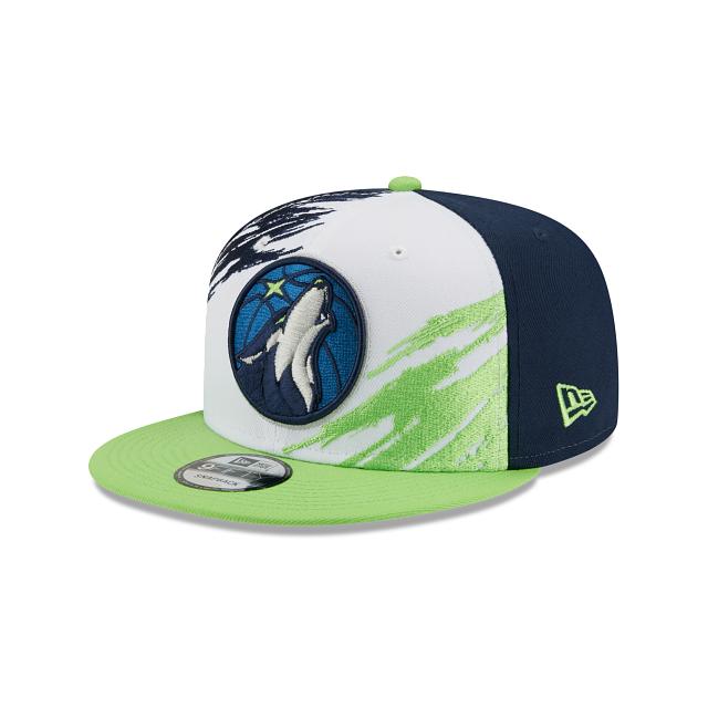 Minnesota Timberwolves Splatter 9FIFTY Snapback | Minnesota Timberwolves Hats | New Era Cap