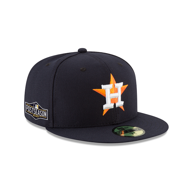 Houston Astros Postseason Side Patch 59FIFTY Fitted | Houston Astros Hats | New Era Cap
