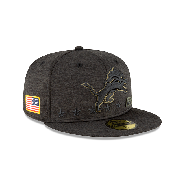 Detroit Lions Salute To Service 59FIFTY Fitted | Detroit Lions Hats | New Era Cap