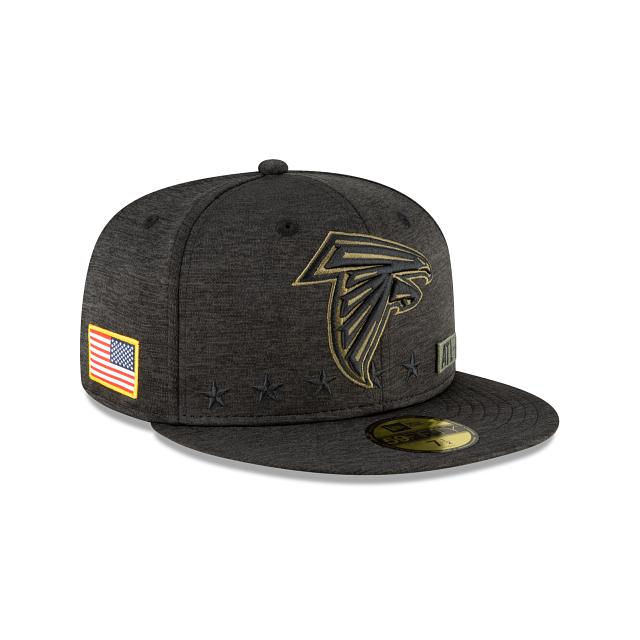 Atlanta Falcons Salute To Service 59FIFTY Fitted | Atlanta Falcons Hats | New Era Cap
