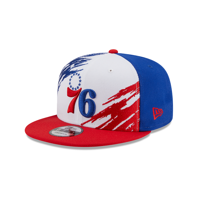 Philadelphia 76ers Splatter 9FIFTY Snapback | Philadelphia 76ers Hats | New Era Cap