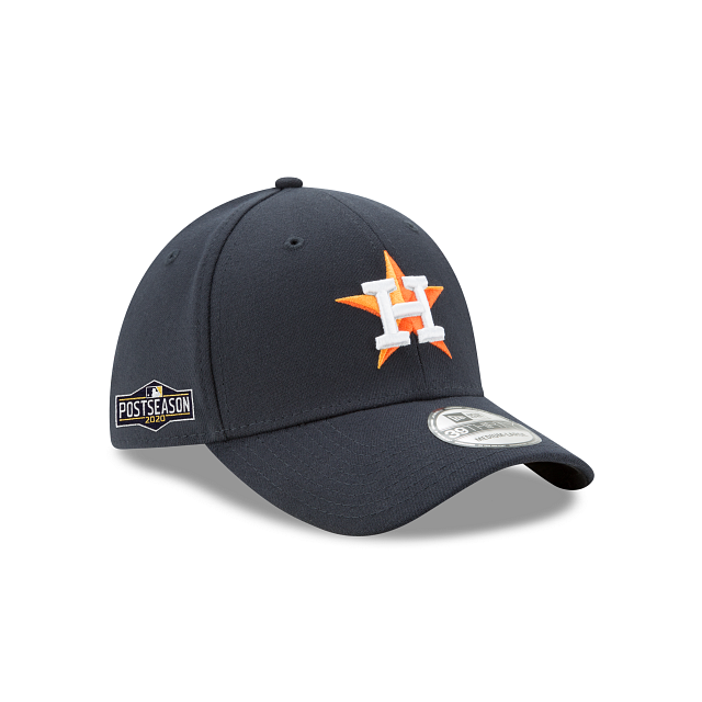 Houston Astros Postseason Side Patch 39THIRTY Stretch Fit | Houston Astros Hats | New Era Cap