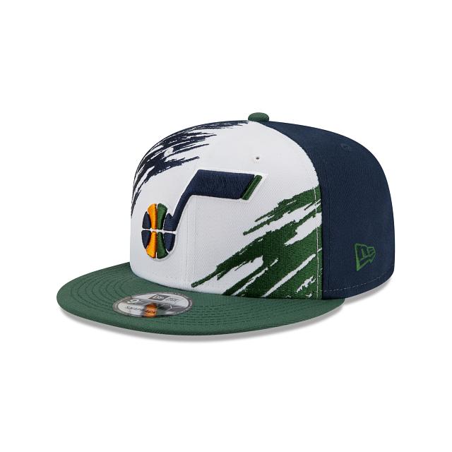 Utah Jazz Splatter 9FIFTY Snapback | Utah Jazz Hats | New Era Cap
