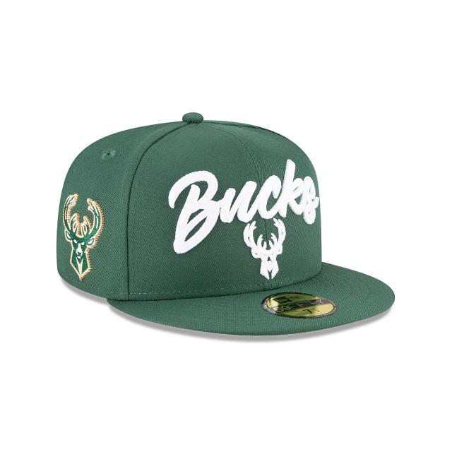 Milwaukee Bucks NBA Draft Alternate 59FIFTY Fitted | Milwaukee Bucks Hats | New Era Cap