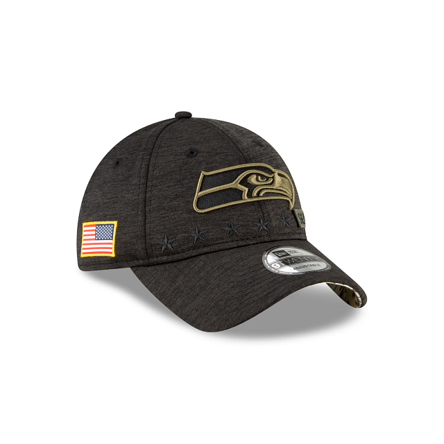 Seattle Seahawks Salute To Service 9TWENTY Adjustable | Seattle Seahawks Hats | New Era Cap