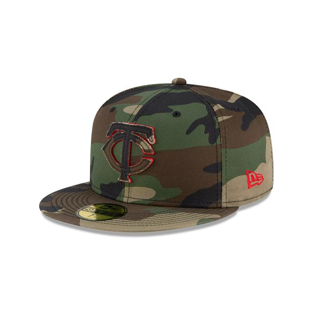 Minnesota Twins Forest Pop 59FIFTY Fitted | Minnesota Twins Hats | New Era Cap