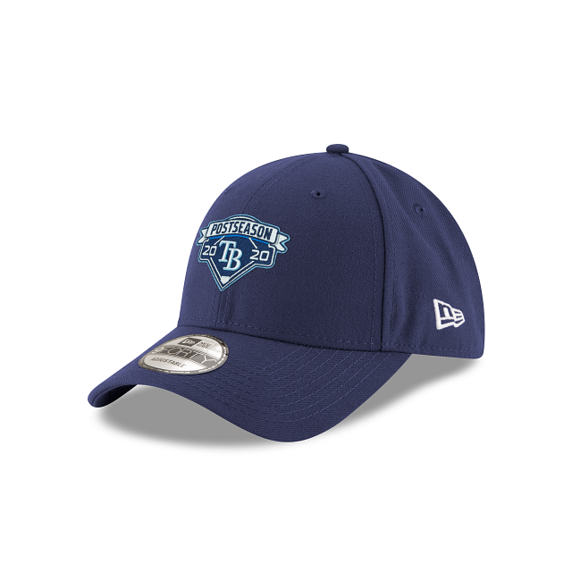 Tampa Bay Rays Postseason Locker Room 9FORTY Adjustable | Tampa Bay Rays Hats | New Era Cap