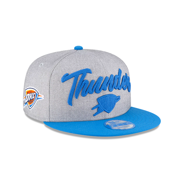 Oklahoma City Thunder Official NBA Draft 9FIFTY Snapback | Oklahoma City Thunder Hats | New Era Cap