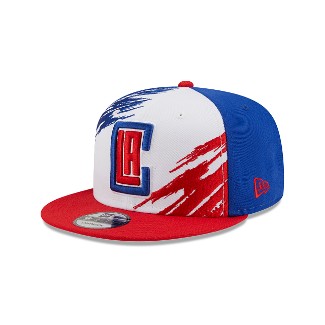 Los Angeles Clippers Splatter 9FIFTY Snapback | Los Angeles Clippers Hats | New Era Cap