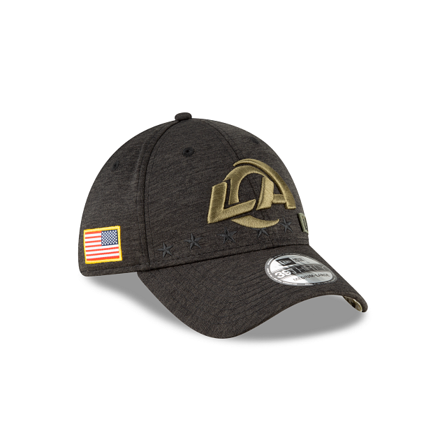 Los Angeles Rams Salute To Service 39THIRTY Stretch Fit | Los Angeles Rams Hats | New Era Cap