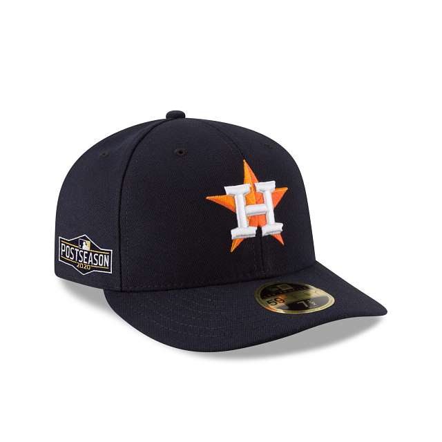 Houston Astros Postseason Side Patch Low Profile 59FIFTY Fitted | Houston Astros Hats | New Era Cap