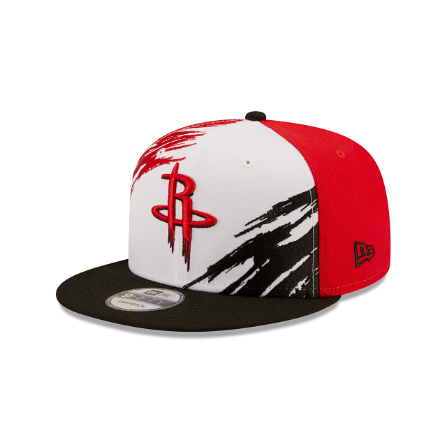 Houston Rockets Splatter 9FIFTY Snapback | Houston Rockets Hats | New Era Cap