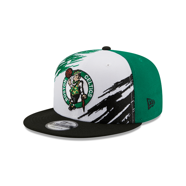 Boston Celtics Splatter 9FIFTY Snapback | Boston Celtics Hats | New Era Cap
