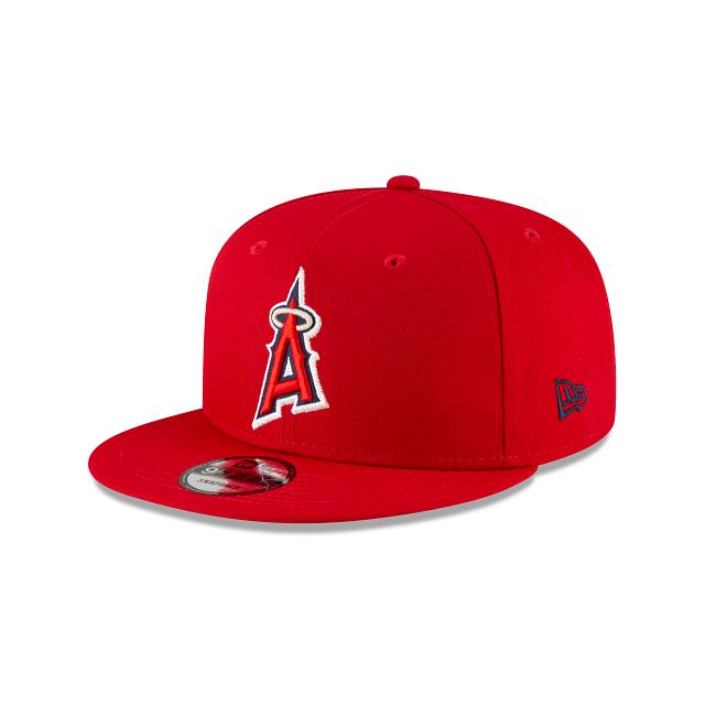 Los Angeles Angels Ligature 9FIFTY Snapback | Los Angeles Angels Hats | New Era Cap