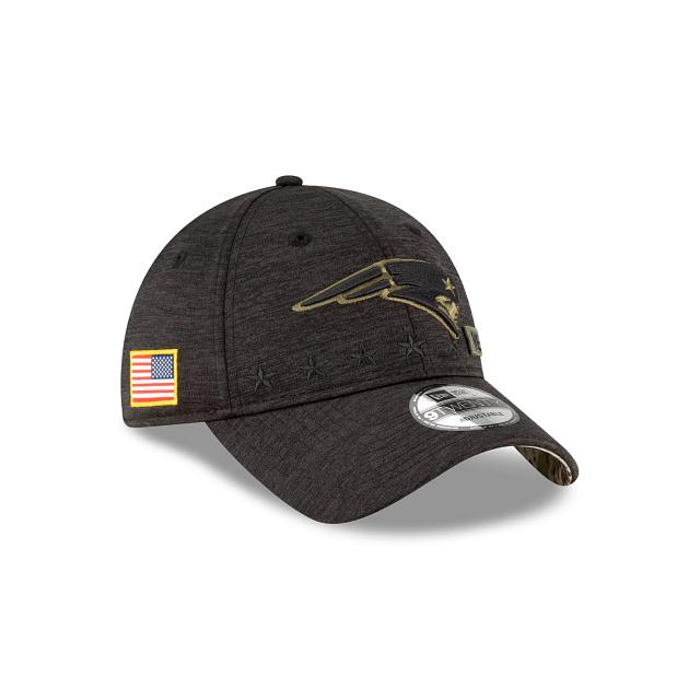 New England Patriots Salute To Service 9TWENTY Adjustable   New England Patriots Hats   New Era Cap