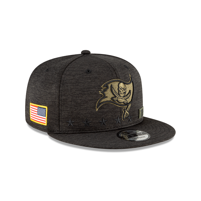 Tampa Bay Buccaneers Salute To Service 9FIFTY Snapback | Tampa Bay Buccaneers Hats | New Era Cap