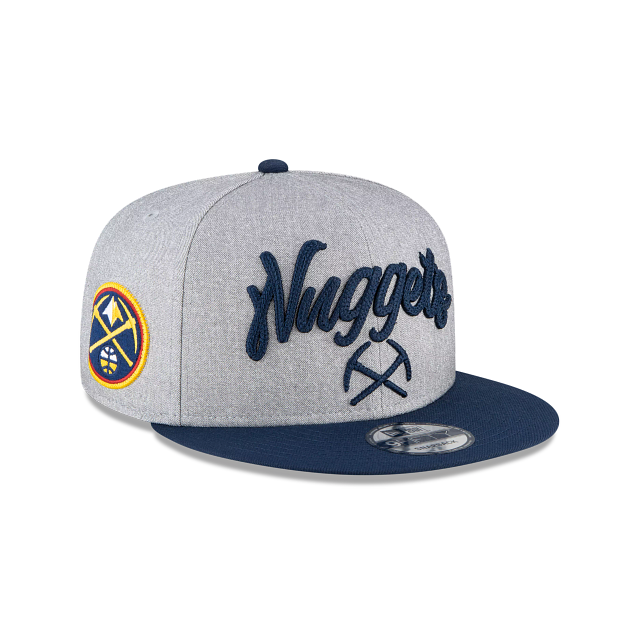 Denver Nuggets Official NBA Draft 9FIFTY Snapback | Denver Nuggets Hats | New Era Cap