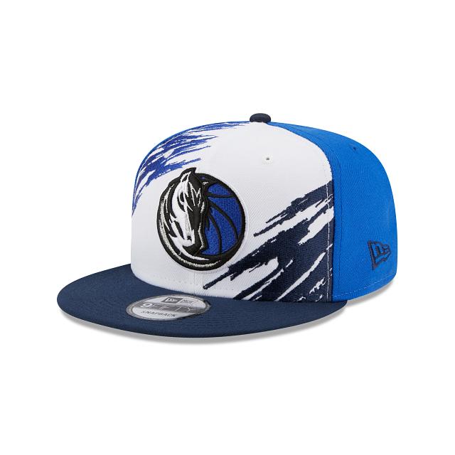Dallas Mavericks Splatter 9FIFTY Snapback | Dallas Mavericks Hats | New Era Cap