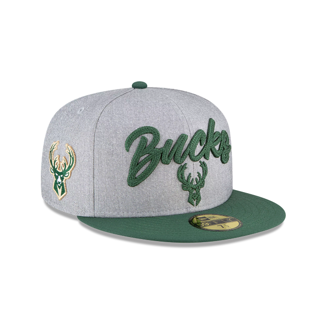 Milwaukee Bucks NBA Draft 59FIFTY Fitted | Milwaukee Bucks Hats | New Era Cap