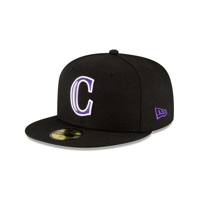 Colorado Rockies Ligature 59FIFTY Fitted | Colorado Rockies Hats | New Era Cap