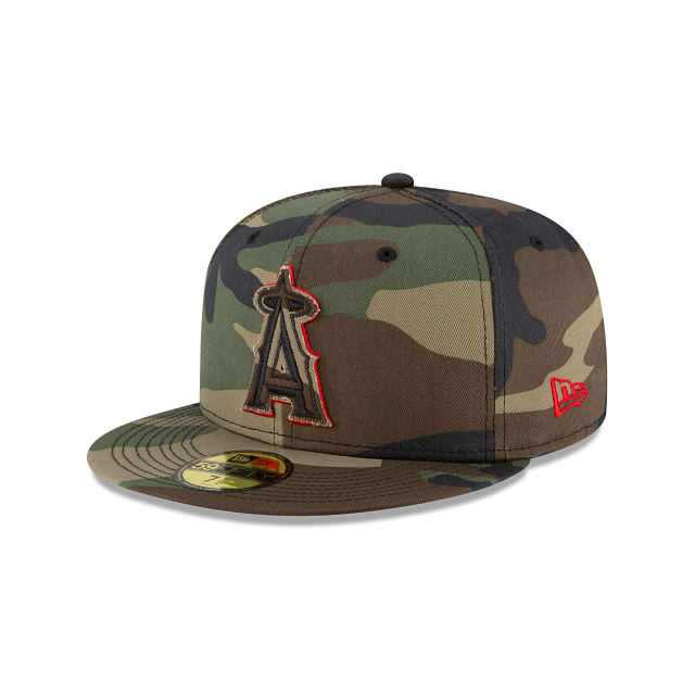 Los Angeles Angels Forest Pop 59FIFTY Fitted | Los Angeles Angels Hats | New Era Cap