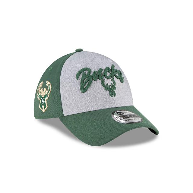 Milwaukee Bucks NBA Draft 39THIRTY Stretch Fit | Milwaukee Bucks Hats | New Era Cap