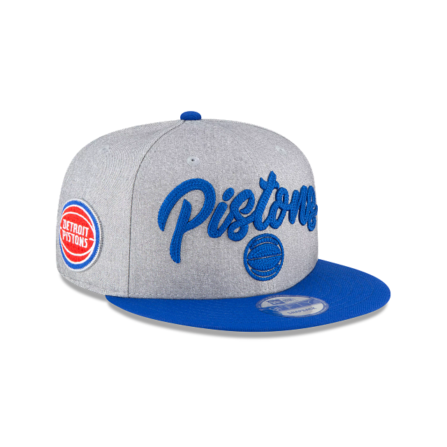 Detroit Pistons Official NBA Draft 9FIFTY Snapback | Detroit Pistons Hats | New Era Cap