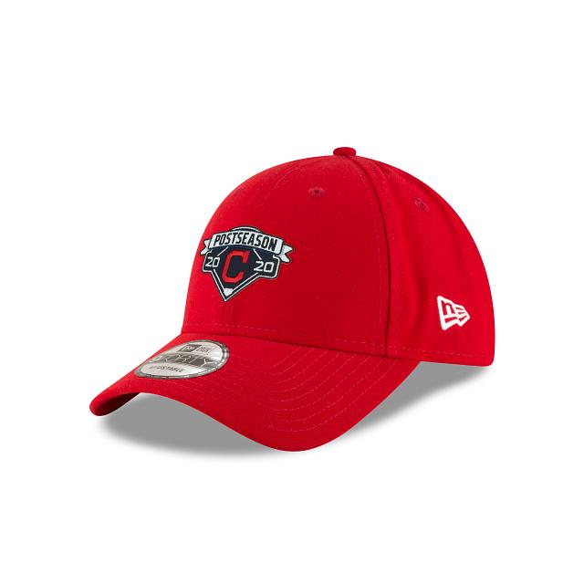 Cleveland Indians Postseason Locker Room 9FORTY Adjustable | Cleveland Indians Hats | New Era Cap