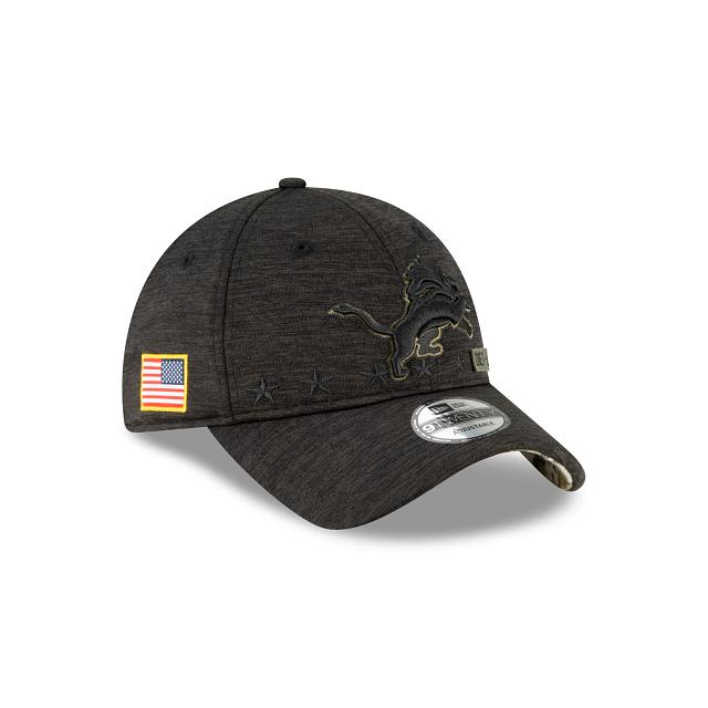Detroit Lions Salute To Service 9TWENTY Adjustable | Detroit Lions Hats | New Era Cap