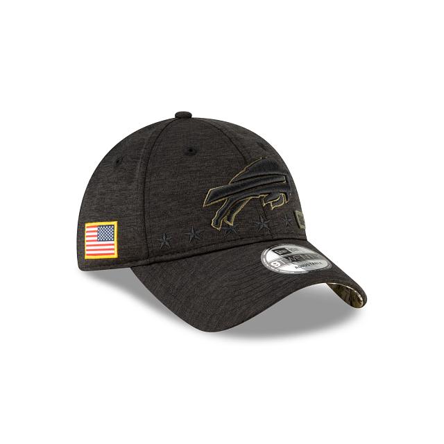 Buffalo Bills Salute To Service 9TWENTY Adjustable | Buffalo Bills Hats | New Era Cap