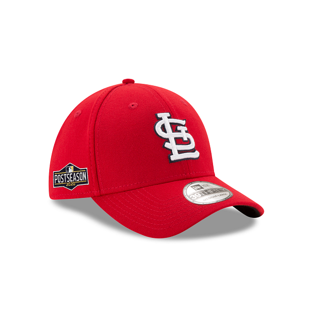 St. Louis Cardinals Postseason Side Patch 39THIRTY Stretch Fit | St. Louis Cardinals Hats | New Era Cap