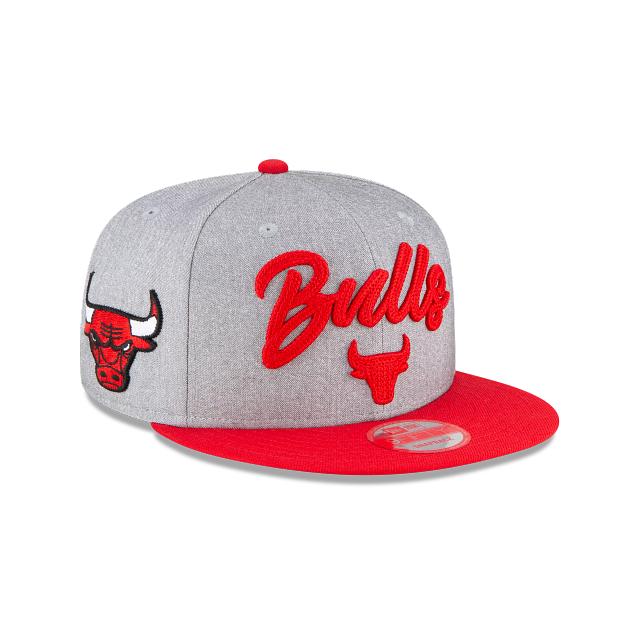 Chicago Bulls Official NBA Draft 9FIFTY Snapback | Chicago Bulls Hats | New Era Cap