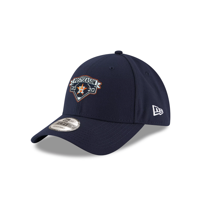 Houston Astros Postseason Locker Room 9FORTY Adjustable | Houston Astros Hats | New Era Cap