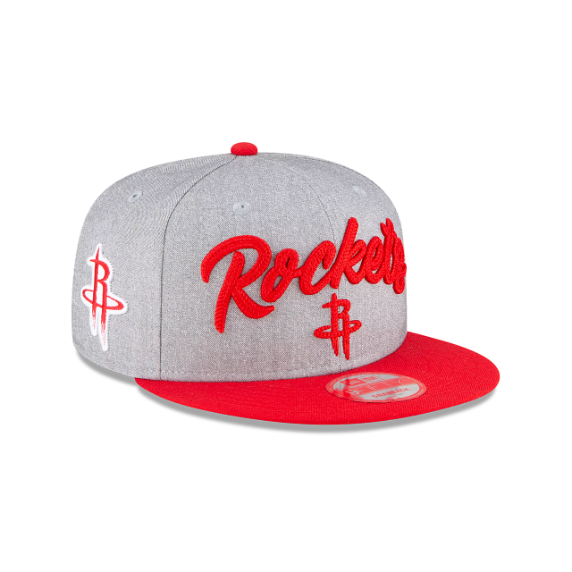 Houston Rockets Official NBA Draft 9FIFTY Snapback | Houston Rockets Hats | New Era Cap