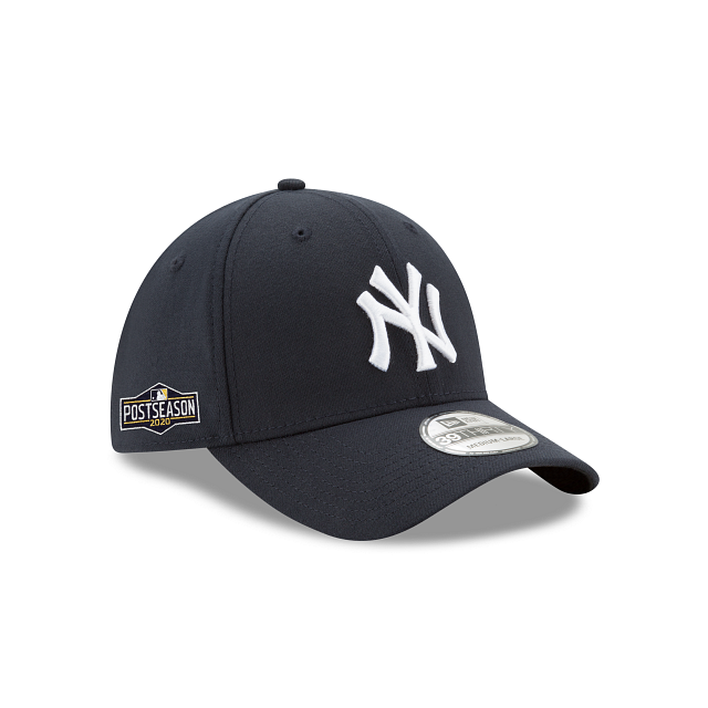 New York Yankees Postseason Side Patch 39THIRTY Stretch Fit | New York Yankees Hats | New Era Cap