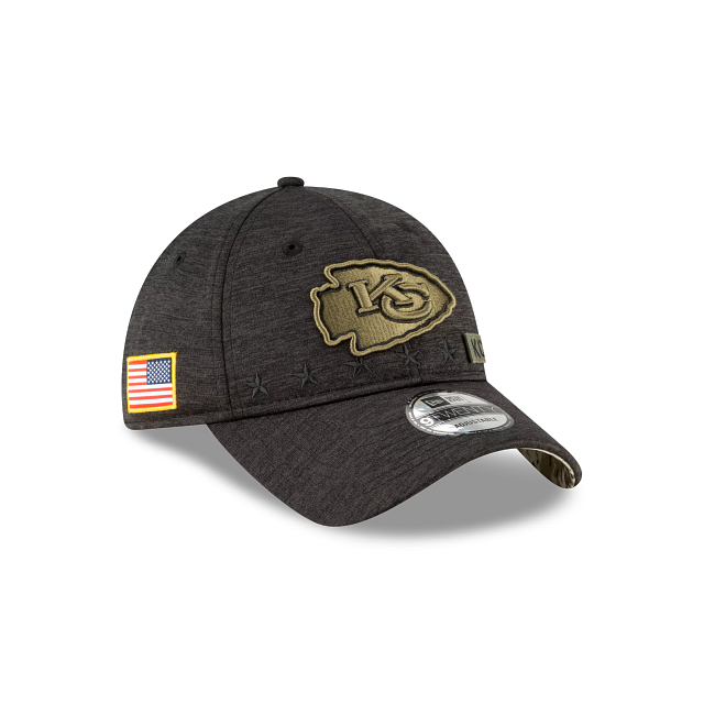 Kansas City Chiefs Salute To Service 9TWENTY Adjustable | Kansas City Chiefs Hats | New Era Cap