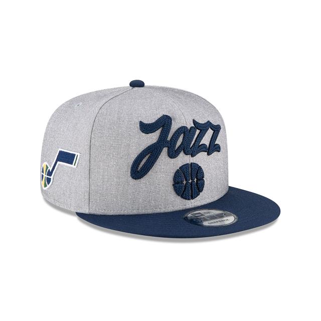 Utah Jazz Official NBA Draft 9FIFTY Snapback | Utah Jazz Hats | New Era Cap