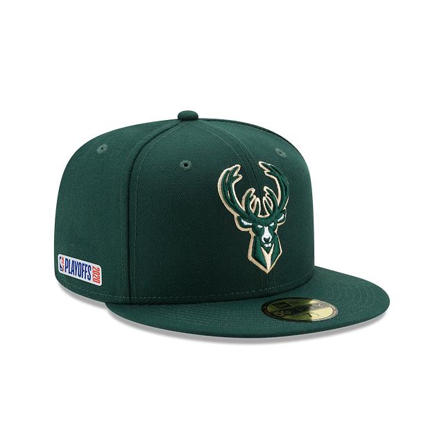 Milwaukee Bucks Playoff Series 59FIFTY Fitted | Milwaukee Bucks Hats | New Era Cap